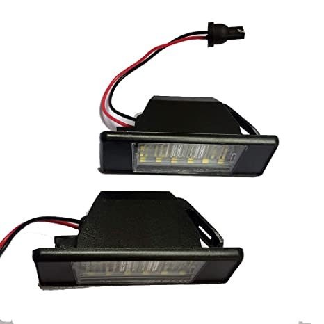 Amazon.com: Loriver - 2 luces LED para matrícula de coche ...