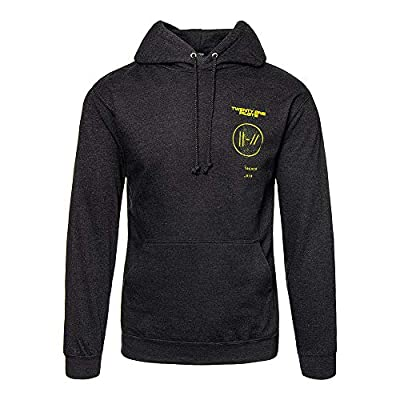 Twenty One Pilots Official Title Trench Hoodie (Black)