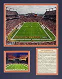Legends Never Die Denver Broncos Invesco Field at Mile High Stadium Framed Photo Collage, 11x14-Inch