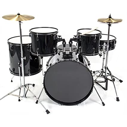 Best Choice Products Drum Sets 1263 5 Piece Complete Adult Set With Cymbals