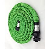 Genled Flexible Expandable Expanding Garden & Lawn Water Hose 75 Ft Feet Green US seller