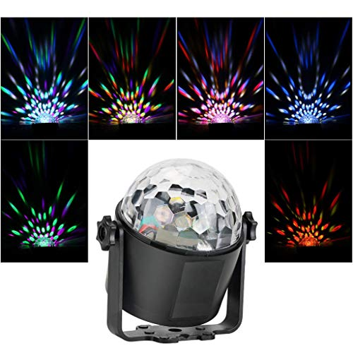 Gotian Party Lights Disco Ball Strobe Light Night Lights with Remote Control for Party Bedroom Product Selling Point:,Your Bedroom Living-Room Party Decro (EU)