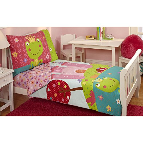 Everything Kids Colorful Fairytale Frog Prince Toddler Beddi