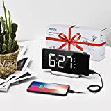 Mpow Projection Clock, FM Radio Alarm