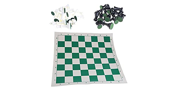 Lamdoo Plasti International - Juego de ajedrez con tabla de ajedrez para niños: Amazon.es: Hogar