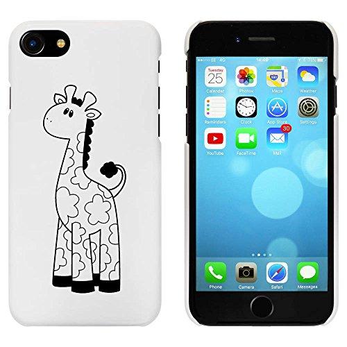 Blanc 'Mignon Girafe' étui / housse pour iPhone 7 (MC00082552)