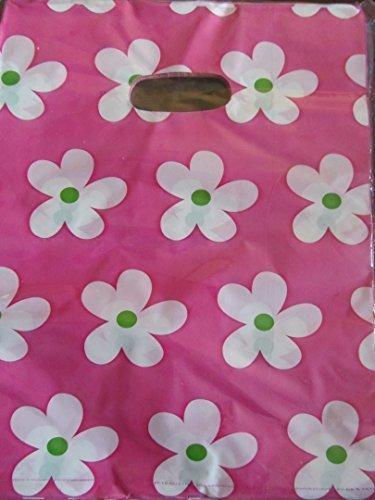 fleurs 45+ sacs par paquet qualit/é Mode animal l/éopard cadeau f/ête sacs butins march/és /à pois imprim/é 18.5cmx17cm Sacs En Plastique pour magasin par Fat-catz-copie-catz