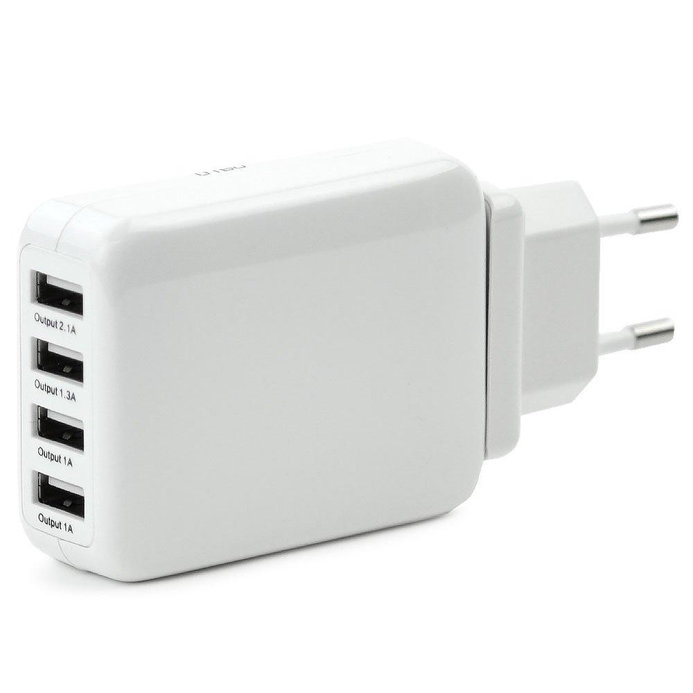 subtel® Cargador USB (220V - 240V) para Smartphone, eReader Tablet ...
