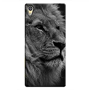 Cover It Up - The Lion BW Xperia Z5 Dual Hard case