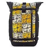 Ethnotek Raja Large Travel Backpack for Women | Hand Woven Fabric | Ghana 22