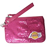 Los Angeles Lakers NBA Stat Pink Girls Wrislet (5 1/2 x 8 1/2 inches)
