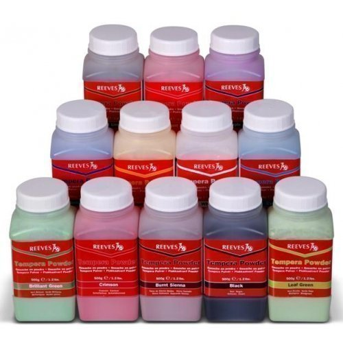 Reeves Tempera Powder Paint Sienna product image