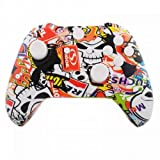 Mod Freakz Shell/Button Kit Hydro Dipped Collection - Racing Graffiti (NOT A CONTROLLER, For Xbox One Gen 1 Controllers ONLY - No Headphone Jack)