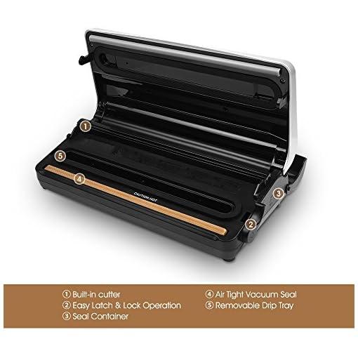 Enhanced KOIOS TVS-2150 Vacuum Sealer