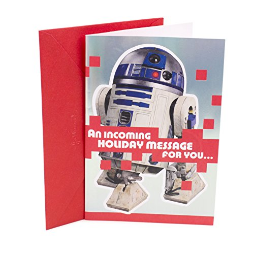 Hallmark Christmas Greeting Card with Song (Star Wars R2D2 - Jingle Bells)