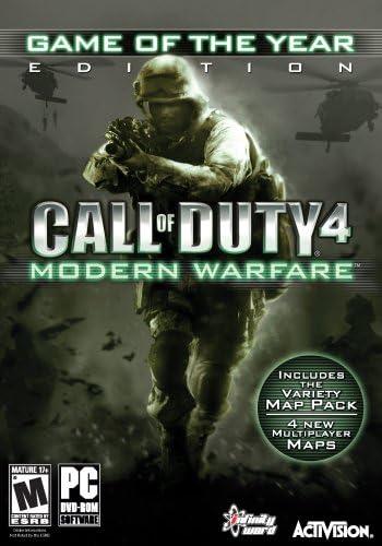 Amazon com: Call of Duty 4: Modern Warfare Game of the Year