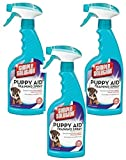 (3 Pack) Simple Solution Puppy Aid Training Spray, 16 Ounce