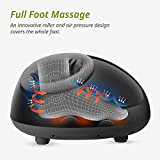 Mynt Shiatsu Foot Massager With Deep-Kneading, Built-In Heat Function, Customizable Air Pressure and Full Foot Coverage From Ankle to Toe