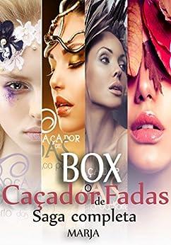 Saga O Caçador de Fadas: Box Completo com 4 livros por [Estórias da Marja]