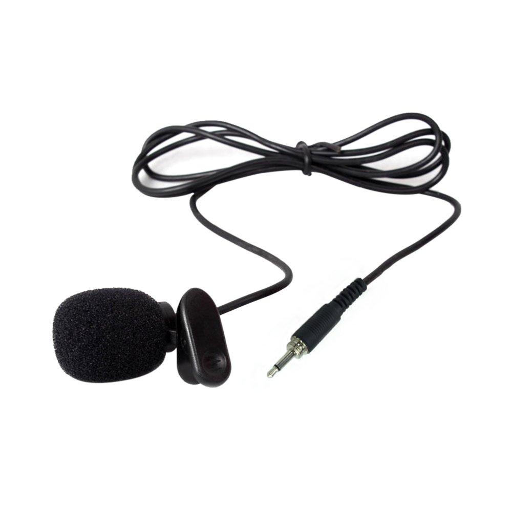 vevice Clip Mikrofon Lehrer Kopfbügel Revers Weizen Teaching Guide Mikrofon Reverskragen Brust Mikrofon Headset Mikrofon Klein Bee Halsband Clip Mikrofon Krawattenklammer Mikrofon (3, 5Gewinde) 5Gewinde) 10DKNKIB02VTE5890954YYK