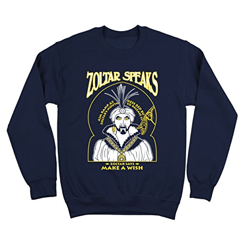 Zoltar Speaks Fortune Teller Funny Big Hilarious Jersey Shore Comedy Humor Mens Sweatshirt XX-Large - Jersey Outlets Shore