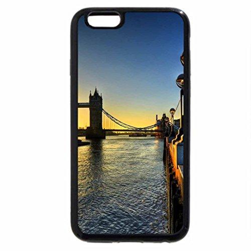 iPhone 6S / iPhone 6 Case (Black) Old-Bridge_New-Building
