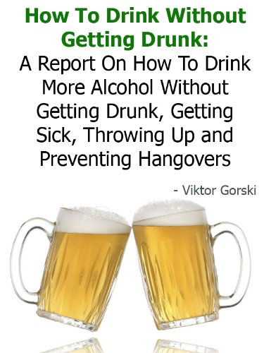 How to prevent being sick when drinking