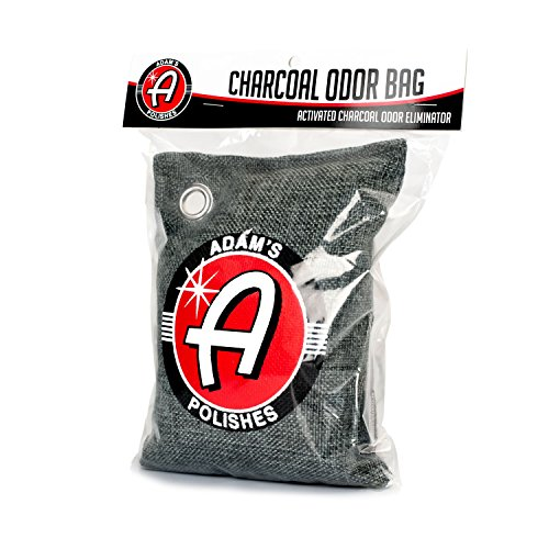 Adams Odor Eliminator Bag 500g - Natural Premium Charcoal Air Purifying Charcoal Bag - Absorbs & Eliminates Odors for Cars, Closets & Bathrooms - Contains no Fragrance or Chemicals, Non-Toxic