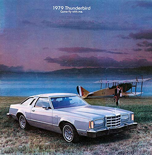 1979 FORD THUNDERBIRD PRESTIGE VINTAGE COLOR SALES BROCHURE - 172-Rev. 12/78 - USA - EXCELLENT ORIGINAL !! - Ford Thunderbird Color
