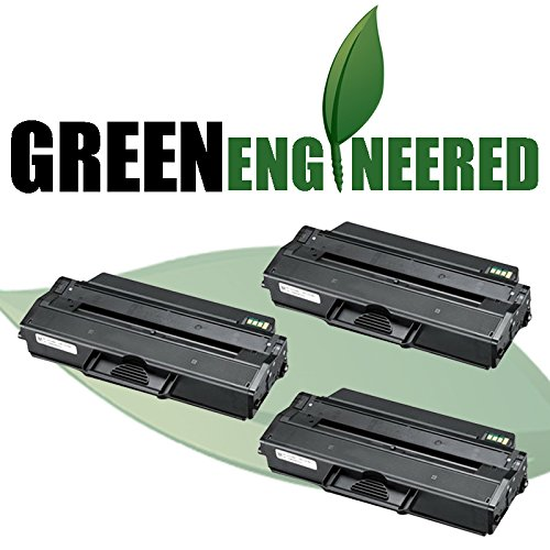 Cartridge Triple Pack (GreenEngineered Compatible Replacement Black Laser Toner Cartridge Triple Pack for Samsung MLT-D103L)