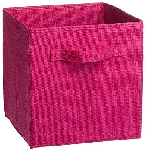 (Fabric Folding Cube Non-Woven Storage Bins,5)