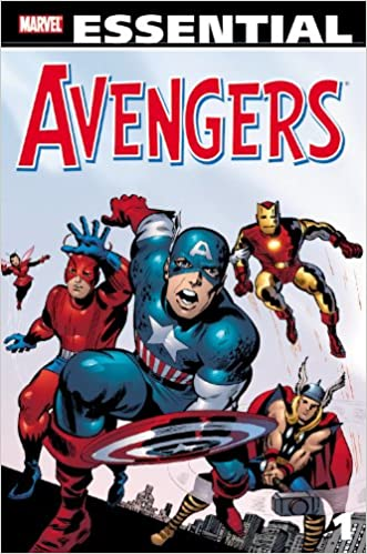 Image result for Essential Avengers