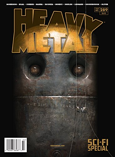 HEAVY METAL #289 CVR B SAUER (MR)