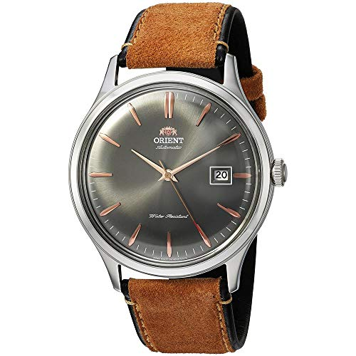 Orient Reloj Analógico para Hombre de Automático con Correa en Cuero FAC08003A0