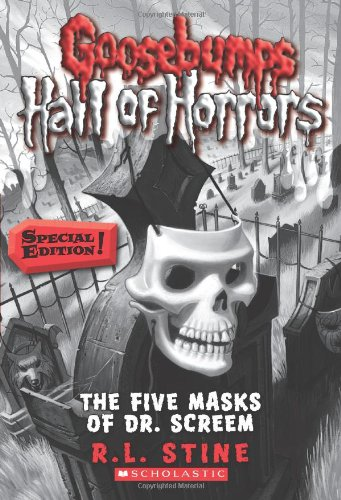 Goosebumps Hall of Horrors #3: The Five Masks of Dr. Screem: Special -