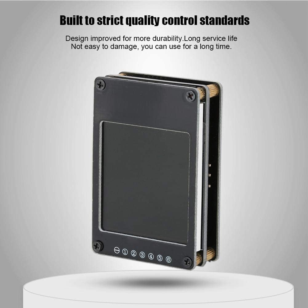 Drfeify Testeur de Tension LCD Digital Voltmeter Testeur de Tension Affichage 2-6S R/écepteur de Signal PWM SBUS PPM