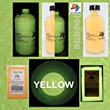 UniGlow Glow In The Dark Pigment Powder (32 Oz / 907.18 Grams, Yellow)