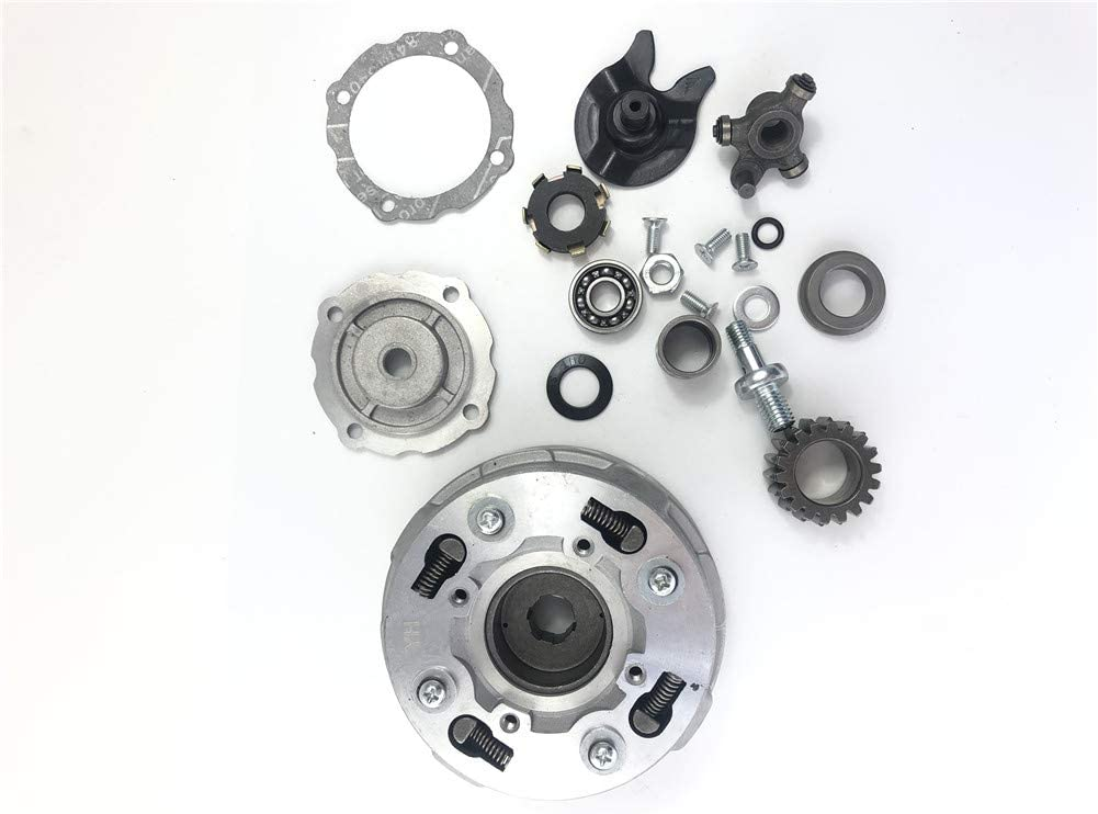 CLEO Clutch Assembly 18 Teeth For Semi Auto 50cc-125cc Engine Dirt Bikes ATV Go-Kart Taotao Kazuma