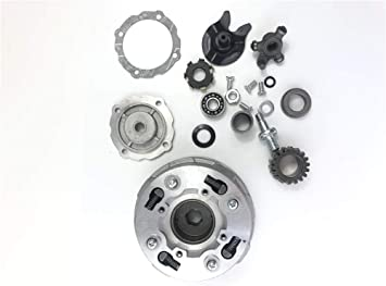 Amazon Com Cleo Clutch Assembly 18 Teeth For Semi Auto 50cc 125cc Engine Dirt Bikes Atv Go Kart Taotao Kazuma Automotive