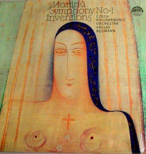MARTINU, SYMPHONY NO.1, INVENTIONS; Czech Plilharmonic, Vaclav Neumann by PROARTE