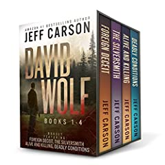 The David Wolf Mystery Thriller Series Books 1-4 by Amazon #1 bestselling author Jeff Carson have brought readers across the globe and back again to the high country of Colorado, leaving them breathless and desperate for more. If you love thr...