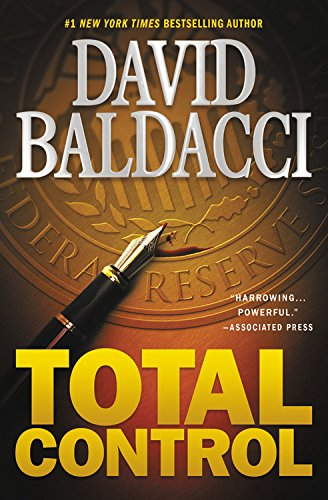 Book cover from Total Control by David Baldacci