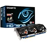 Gigabyte GV-R797TO-3GD Radeon HD 7970 Grafikkarte (ATI, PCI-e, 3GB GDDR5 Speicher, DVI-I, HDMI, 2x Mini DisplayPort, 2 GPU)