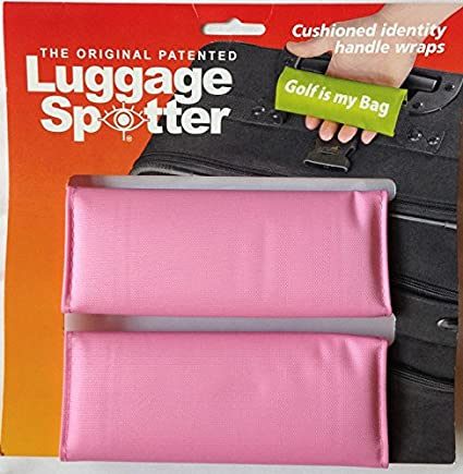 Luggage Spotter Handle Wrap Bag Tag Suitcase Grip Locator for Secure Travel HOPE 2 PACK