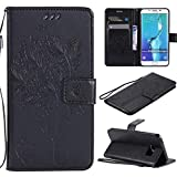 Samsung Galaxy S6 Edge Plus Case, Lyzwn Case Cover for Samsung Galaxy S6 Edge Plus PU Leather Flip Wallet Case with Card Holder Magnetic Closure for Samsung Galaxy S6 Edge Plus Cover