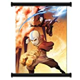 "Nickelodeon Avatar the Last Air Bender Cartoon Fabric Wall Scroll Poster (16"" x 22"") Inches"