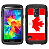 Skin Decal for Otterbox Defender Samsung Galaxy S5 Case - Canada Flag