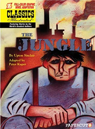 book cover of The Jungle