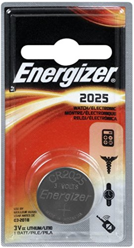 Energizer Watch/Electronic Battery 3 Volt 2025 1 Each (Pack of 5)