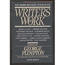 Writers at Work: The Paris Review Interviews (Sixth Series)